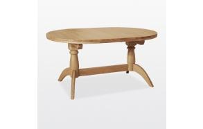 jatkettava soikea ruokapöytä Windsor, 2 jatkokappaleella 160/200/240 cm