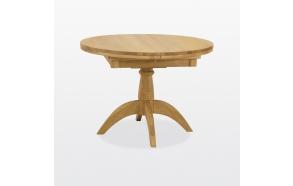 jatkettava pyöreä ruokapöytä Windsor, 1 jatkokappaleella 106/146 cm