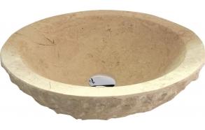 kiviallas Interia Blok, pöytätasolle, rouhittu, 45x15 cm