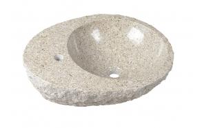 kiviallas Interia Blok, pöytätasolle, rouhittu, 560 X 460 X 150 mm