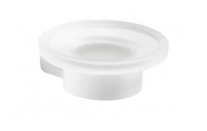 Saippuateline Pyrene, matta valkoinen/matta lasi