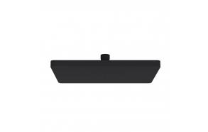 Nelikulmainen suihkupää Creavit 25x17 cm, matta musta