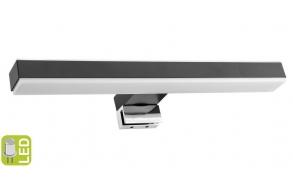 VERONICA 2 LED valo, 8W, 300x25x83mm, musta