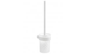 WC-harja Pyrene, matta valkoinen/matta lasi