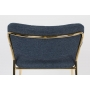 Baarituoli Jolien Gold/Dark Blue