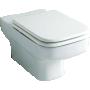 seina WC pott , valge, tüüp SLIM,ilma istmeta