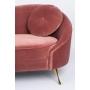 sohva I Am Not A Croissant Pink