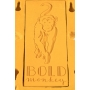 koriste-lamppu Devilish Bulldog Yellow
