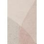 matto Dream 160X230 Natural/ Pink
