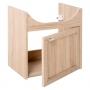 allaskaappi Interia Piano, 47x49x30 cm, tammi