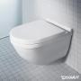 seinä-wc-istuin Duravit Starck 3 rimless + hitaasti sulkeutuva istuinkansi
