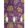 Accents Agapanthus Aubergine/Green