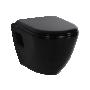 wc-istuin Creavit TP325, seinämalli, musta