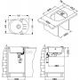 keittiöallas Alveus Roll 40-G11, valkoinen