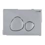 Seinä WC-istuinpaketti Creavit TP 325, täydellinen toimitus, - kromi huuhtelupainike