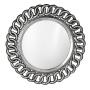 peili Circle, 80 cm cm, antiikkihopea