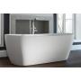 kivimassa kylpyamme Interia Hellisay, 360 l, 1700 x 750 mm, mattavalkoinen