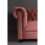 sohva Chester Velvet, roosa