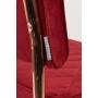 tuoli Diamond Kink, royal red