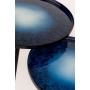 apupöytäsetti Flow sininen, 2 kpl S - halk. 31 kork. 40 cm; L halk. 40 kork. 45 cm