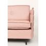 3-paikkainen sohva Jaey, roosa