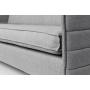 2,5-paikkainen sohva Jaey, vaaleanharmaa 91