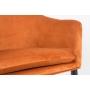 käsinojallinen tuoli Catelyn, oranssi