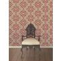 Decadence Crepe Moroccan Medallion Red