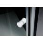suihkunurkka Interia Amico, 1040-1220x900x1850 mm, valkoinen profiili, karkaistu turvalasi, säädettävä leveys