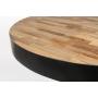 matala pyöreä baaripöytä Maze, luonnollinen