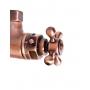 termostaatti sadesuihkuhana, kupari, päältä 3/4 ´´ liitäntä