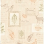tapetti Woodland collage