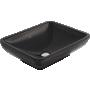 Creavit pesuallas pöytätasolle, musta, 40x50 cm