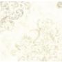 tapetti Aphrodite Devore Damask, leveys 90 cm