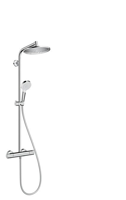termostaat vihmadušikomplekt Hansgrohe Showerpipe 240 1jet