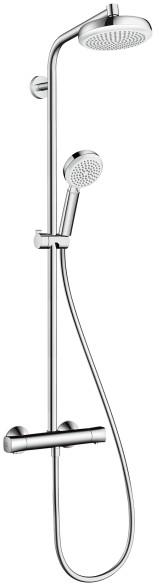 termostaat vihmadušikomplekt Hansgrohe Showerpipe 160 1jet