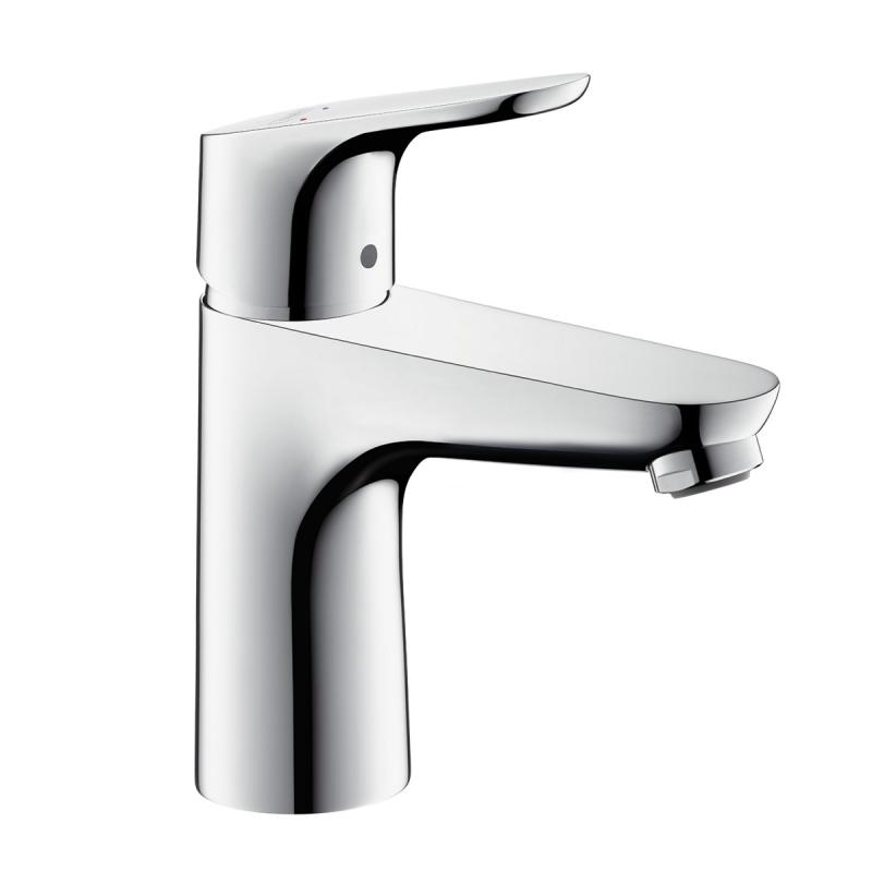 Hansgrohe Focus single lever basin mixer 100 without waste set