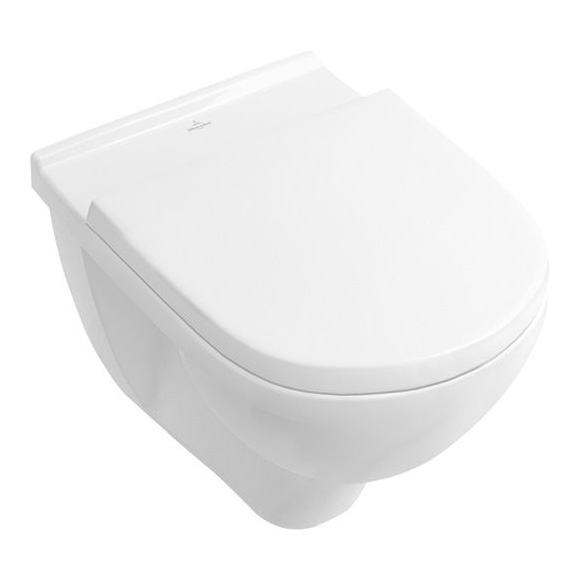 seina wc pott Villeroy & Boch O.Novo + aeglaselt sulguv prill-laud