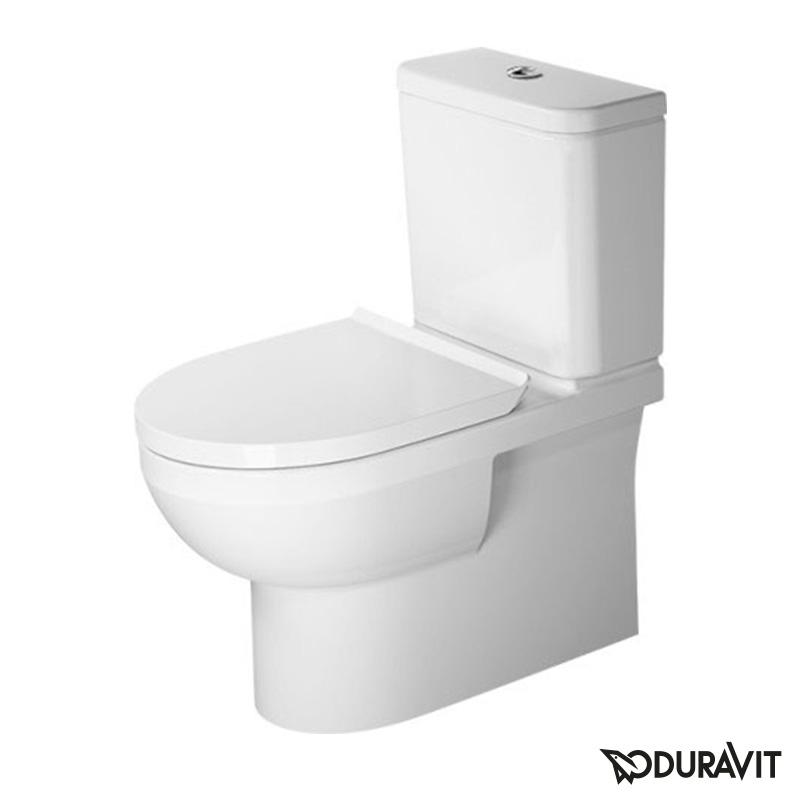 rimfree wc kompakt Duravit Durastyle Basic + aeglaselt sulguv prill-laud