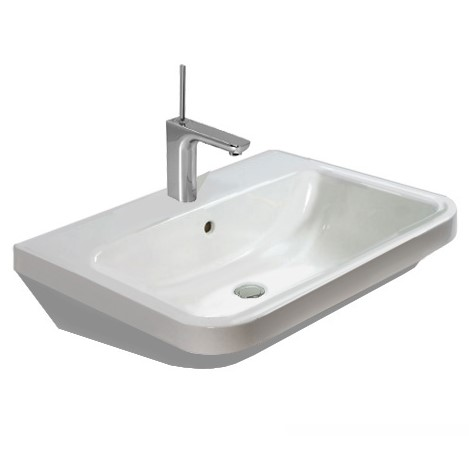 Duravit DuraStyle washbasin white, with 1 tap hole
