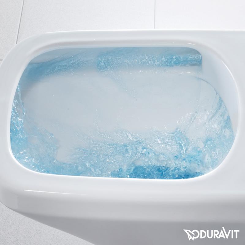 seina wc pott Duravit Durastyle rimfree + aeglaselt sulguv prill-laud