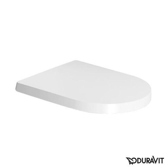 seina wc pott Duravit Me by Starck rimfree + aeglaselt sulguv prill-laud