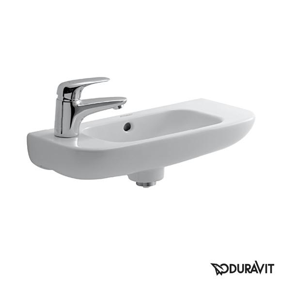 valamu Duravit D-code, 500x220 mm, vasak