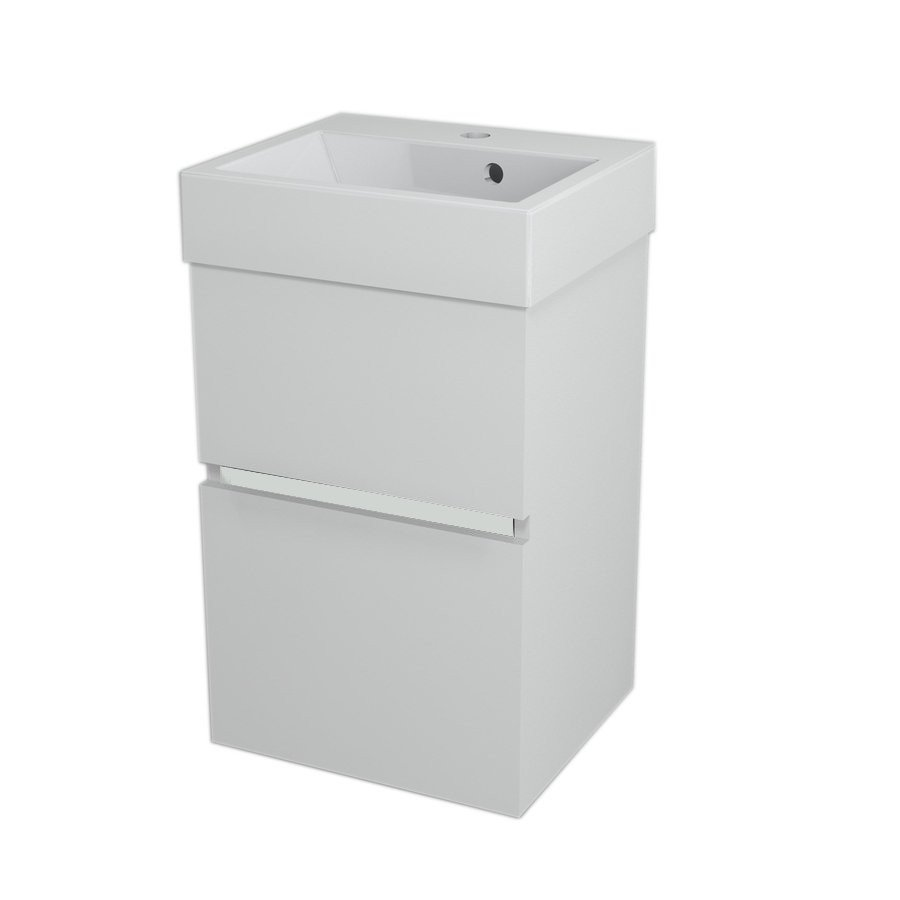 LARGO Basin Cabinet 41x60x35cm, White