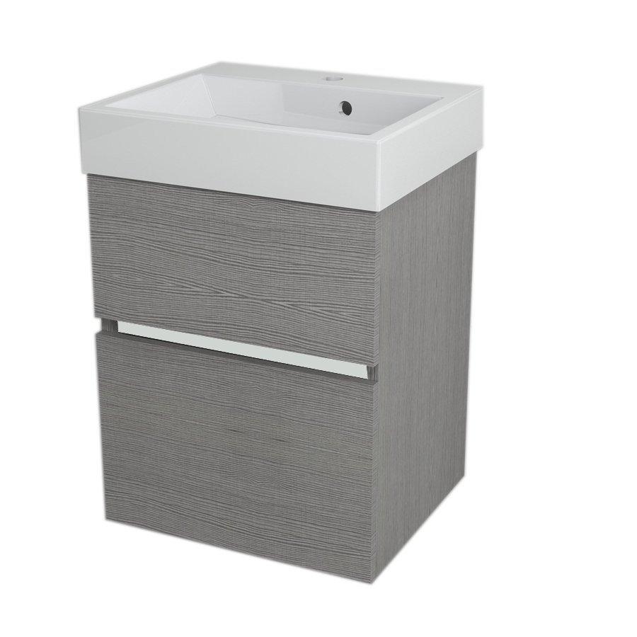 valamukapp Largo 49x60x41 cm, Silver Oak