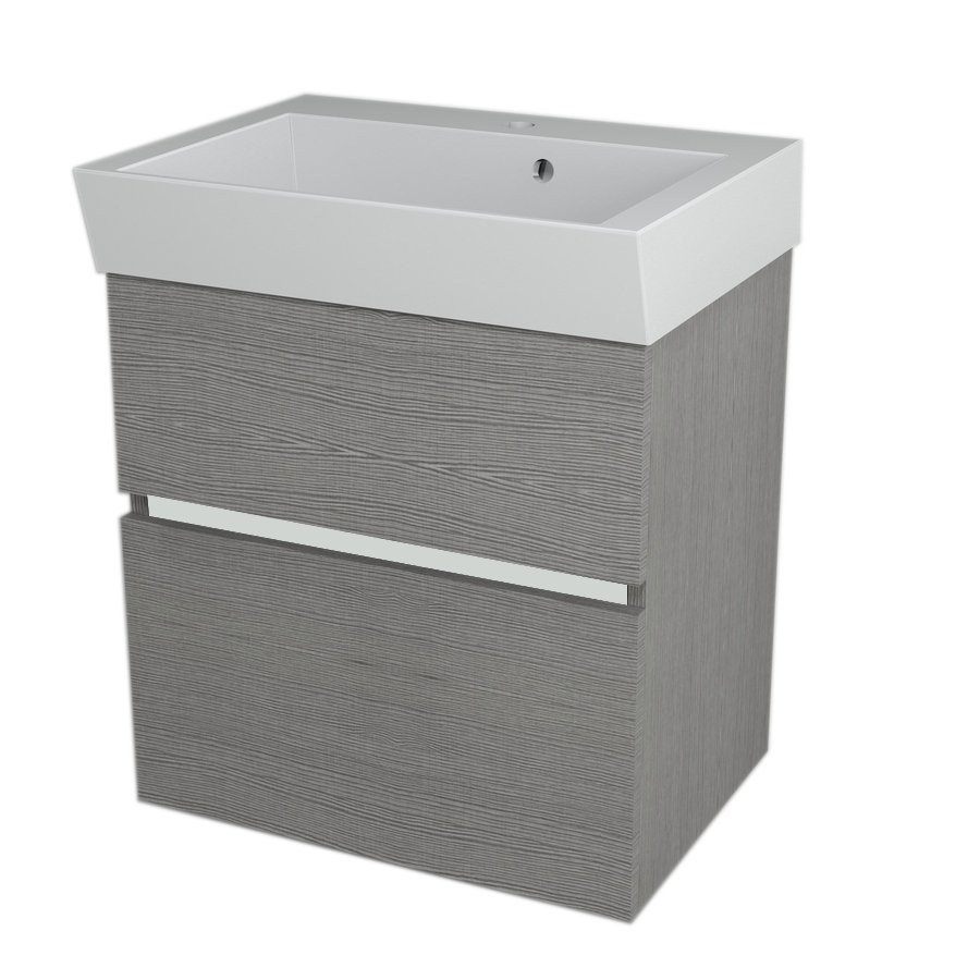 valamukapp Largo 59x60x41 cm, Silver Oak