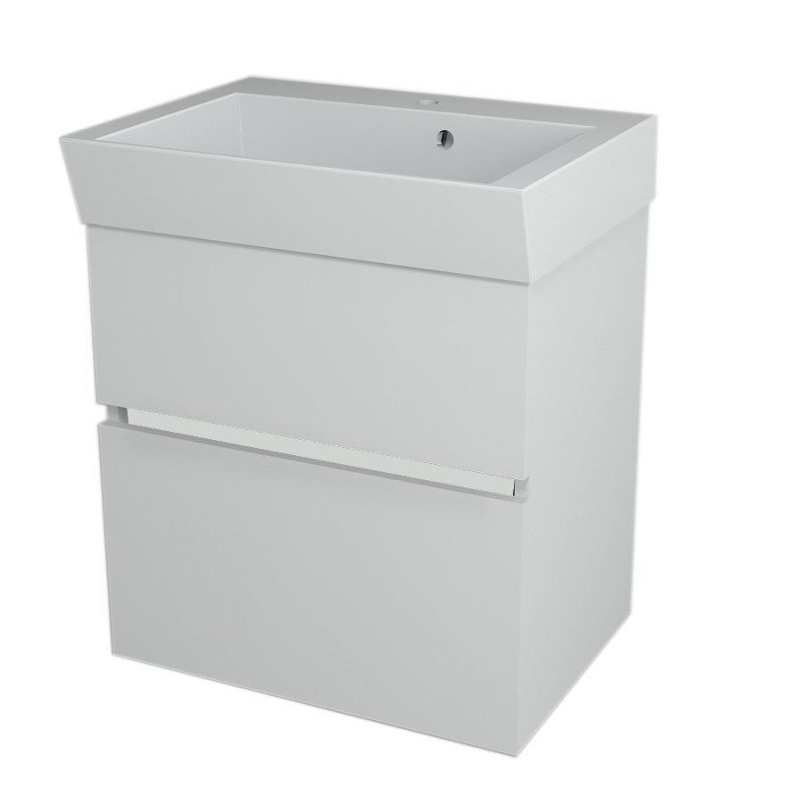 LARGO Basin Cabinet 59x60x41cm, White