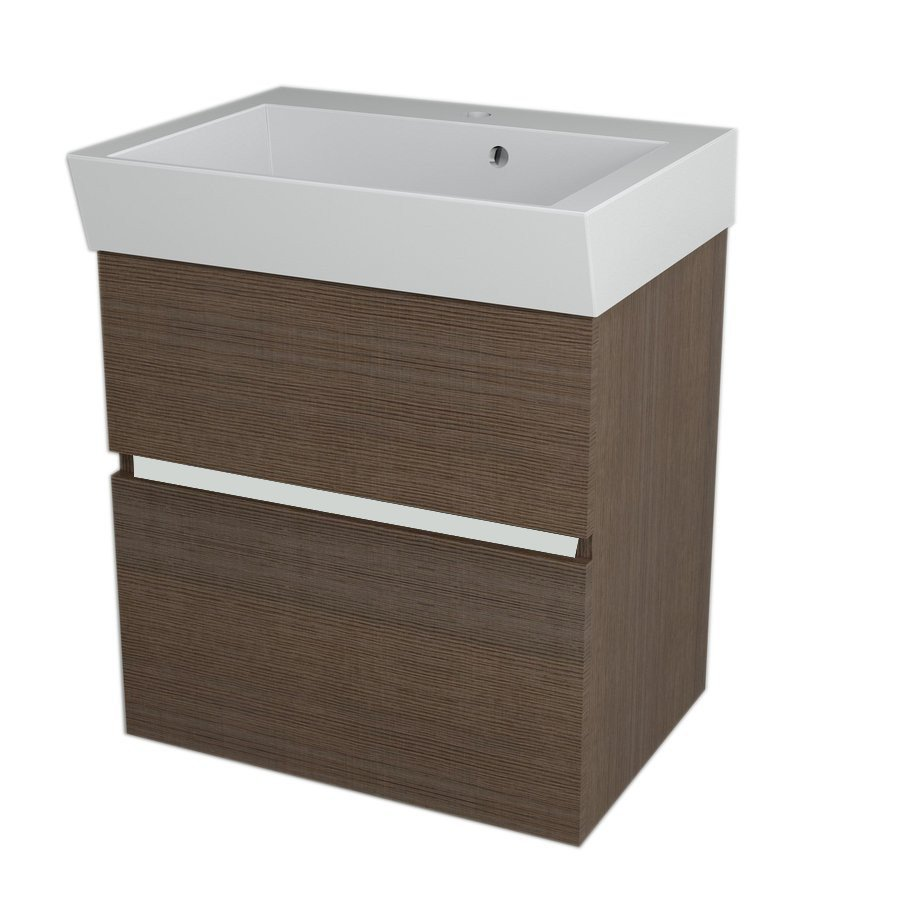 LARGO Basin Cabinet 59x60x41cm, Pine Rustic