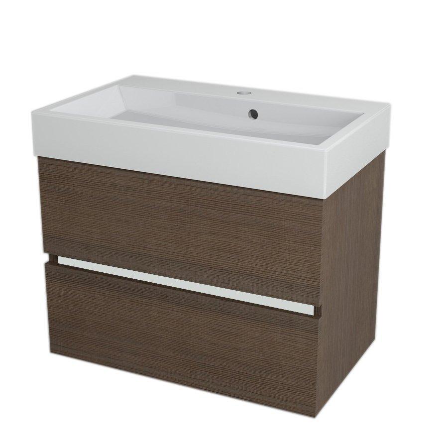 LARGO Basin Cabinet 69x50x41cm, Pine Rustic