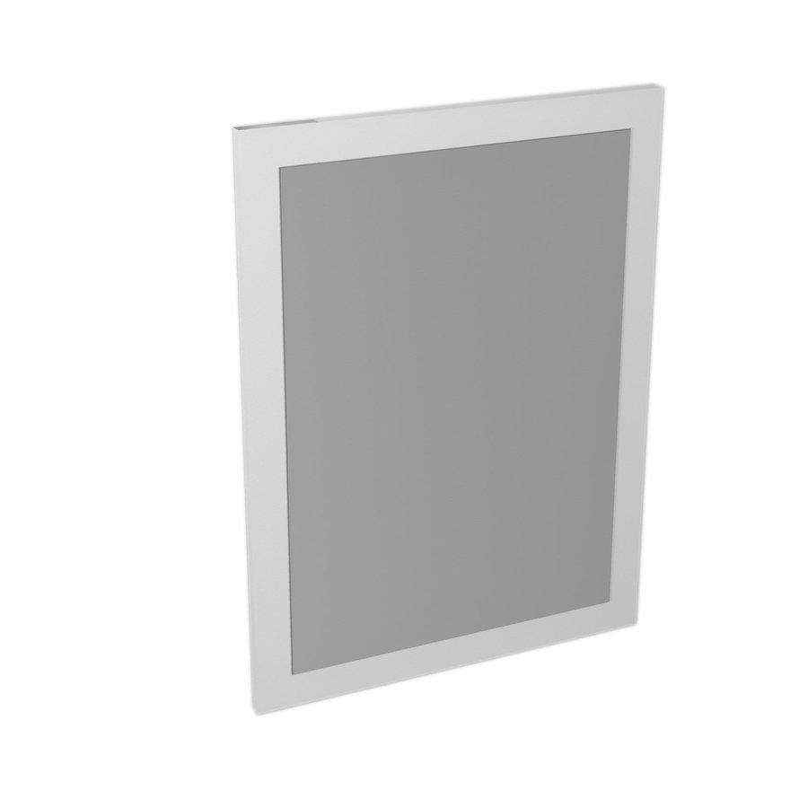 LARGO mirror with frame 600x800x28mm, White